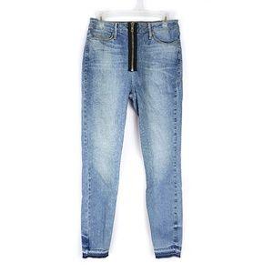 Good American Good Waist high rise skinny jeans 29